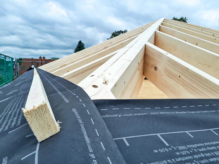 Holzbau Dach