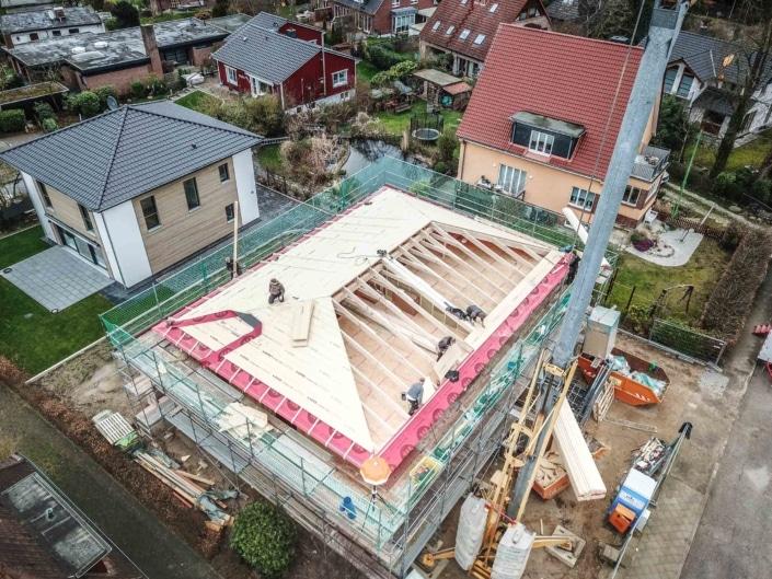 Neubau Dachstuhl